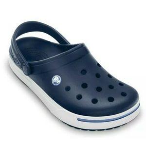 NEW Crocs Crocband II Unisex Clogs Navy Blue